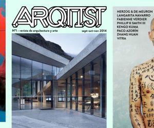 Diseño de toda la revista interactiva Arqtist Magazine